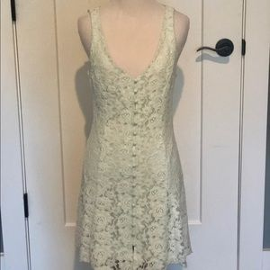 Lace sleeveless summer dress